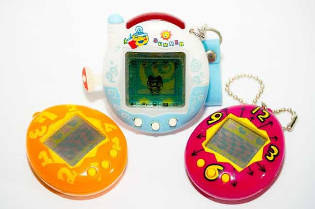 Tamagotchis/Virtual Pets... is listed (or ranked) 4 on the list The Most Nostalgia-Inducing '90s Toys