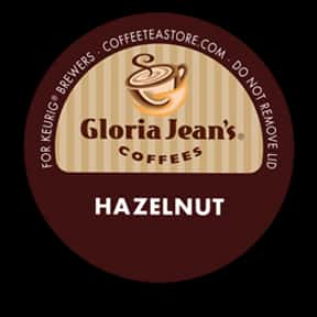 Gloria Jean's Hazelnut Coffee is listed (or ranked) 9 on the list The Best K-Cup Flavors