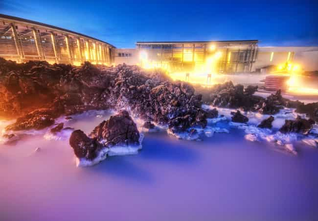 Blaa Lonid (Blue Lagoon) is listed (or ranked) 2 on the list The Top 9 Landmarks to Visit in Iceland