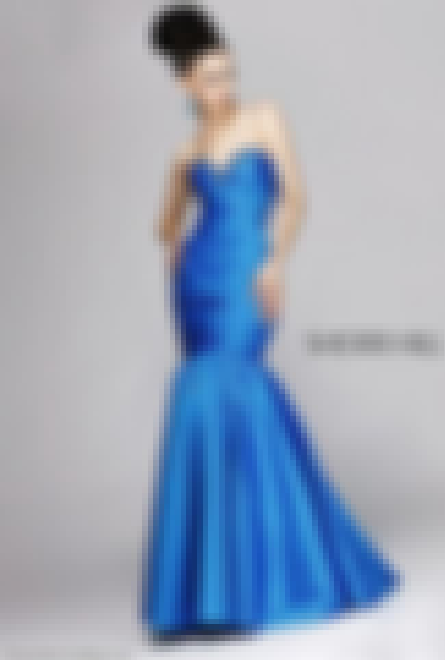 Sherri Hill Long Beaded Mermai... is listed (or ranked) 5 on the list Mermaid Prom Dresses