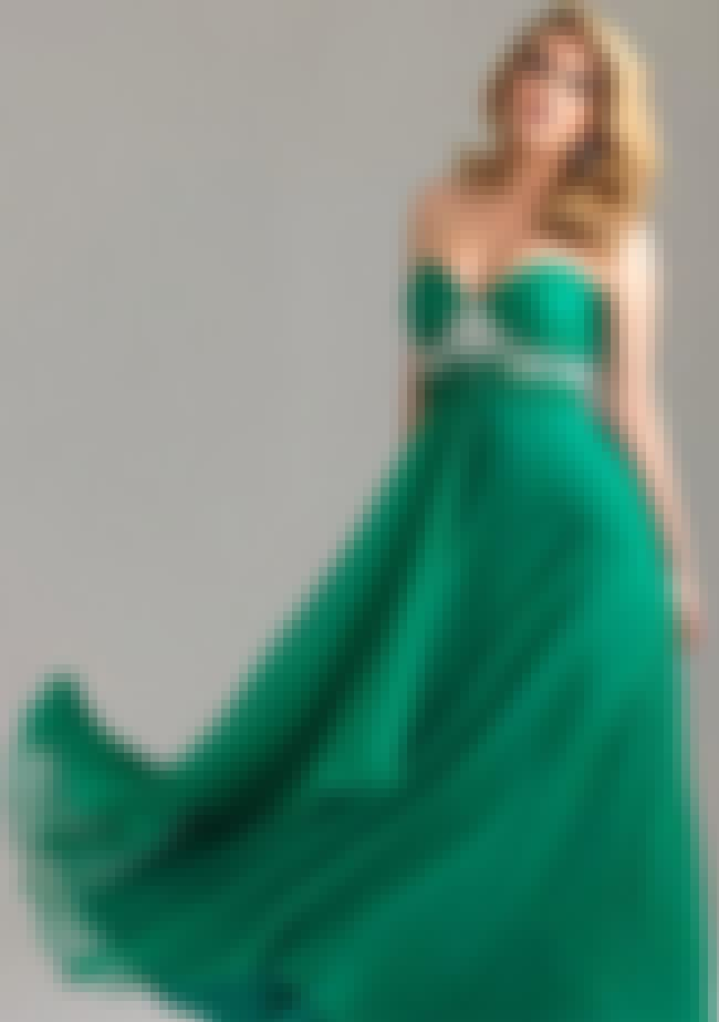 Night Moves Plus Size Emerald ... is listed (or ranked) 4 on the list Plus-Size Prom Dresses