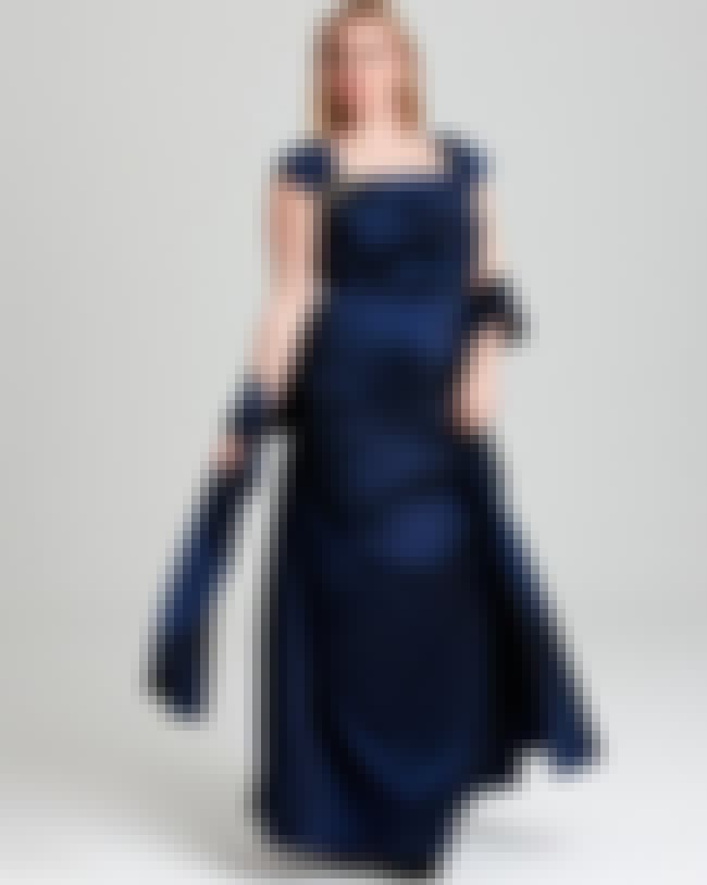 Tadashi Shoji Plus Gown, Taffe... is listed (or ranked) 3 on the list Plus-Size Prom Dresses