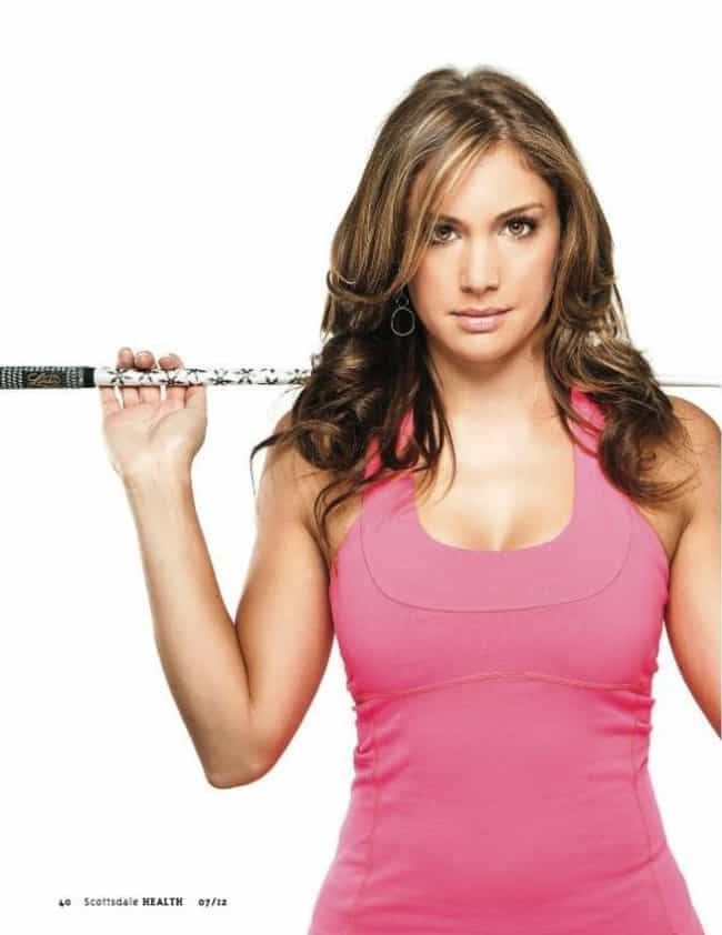 Allison Micheletti is listed (or ranked) 2 on the list The Hottest Golfer Wives and Girlfriends