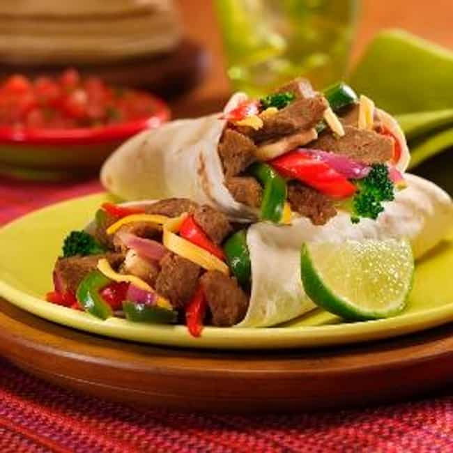 Sizzling Beef Fajitas is listed (or ranked) 4 on the list El Torito Recipes