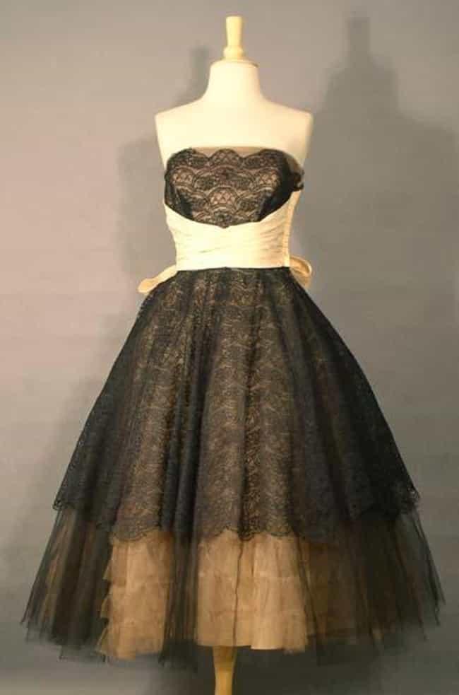 Vintage Black Beige 1950 Is Listed Or Ranked 2 On