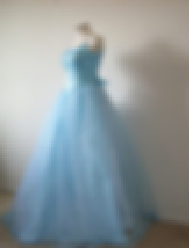 Vintage Blue 1950s Long Prom G... is listed (or ranked) 3 on the list Vintage Prom Dresses