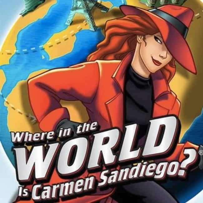 Where in the World Is Carmen S... is listed (or ranked) 4 on the list Longest Running US Game Shows