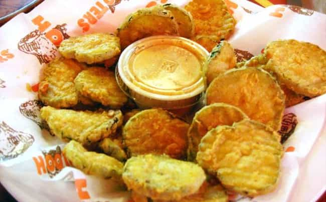 Fried Pickles is listed (or ranked) 3 on the list The Best Hooters Recipes