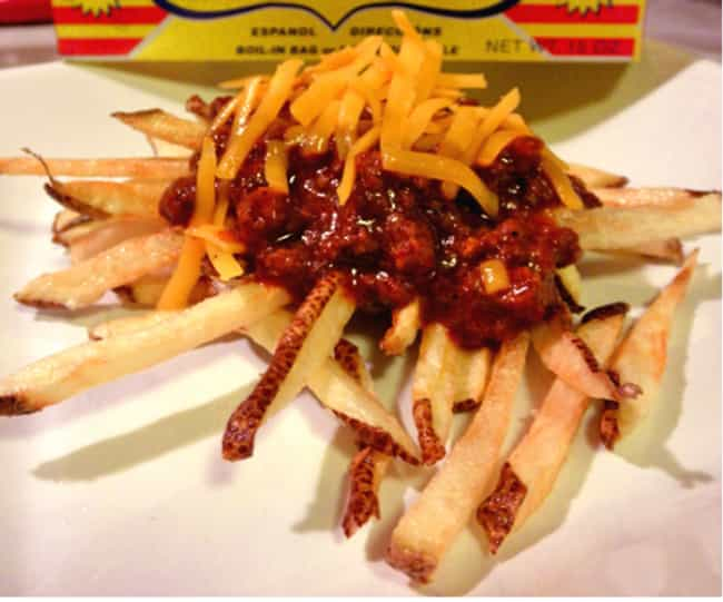 Chili Cheese Fries is listed (or ranked) 6 on the list Big Boy Recipes
