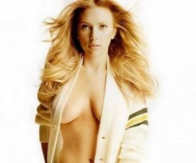 Scarlett Johansson is listed (or ranked) 1 on the list Sexiest Women with the Best Breast Teasers