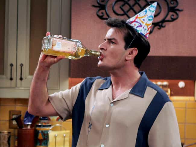 Charlie Harper/Charlie Sheen is listed (or ranked) 1 on the list 8 TV Actors Who Turned Out Just Like Their Characters