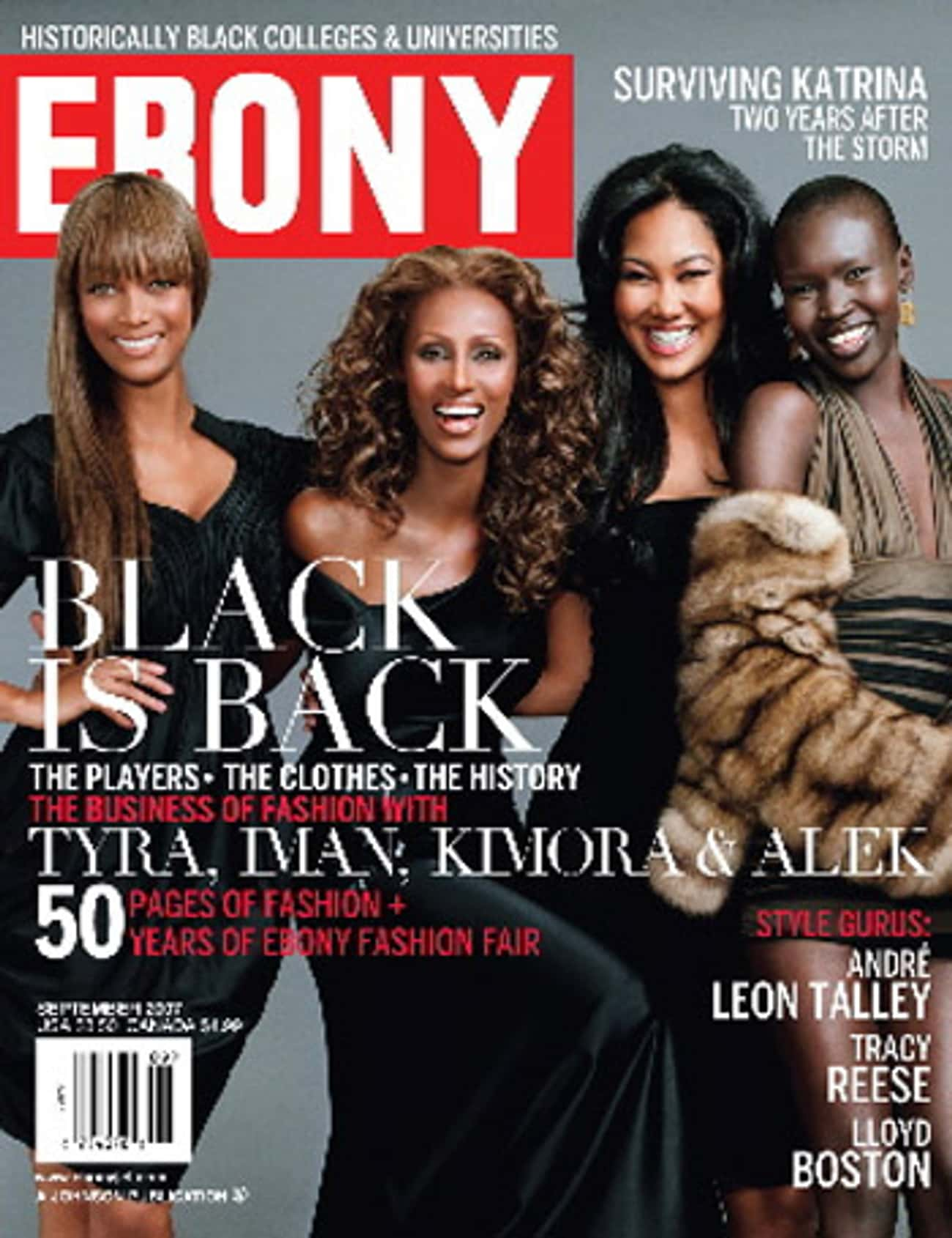 Ebony - September 2007 is listed (or ranked) 2 on the list The Best Ebony Covers