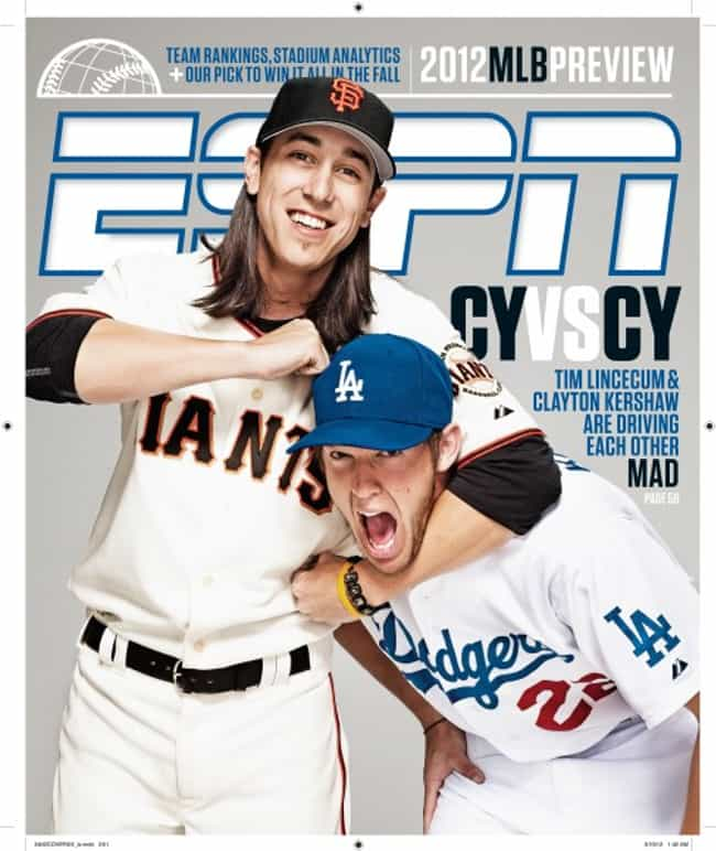 ESPN - March 18, 2012 is listed (or ranked) 1 on the list The Best ESPN Magazine Covers