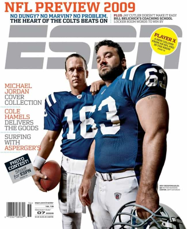 ESPN - September 7, 2009 is listed (or ranked) 3 on the list The Best ESPN Magazine Covers