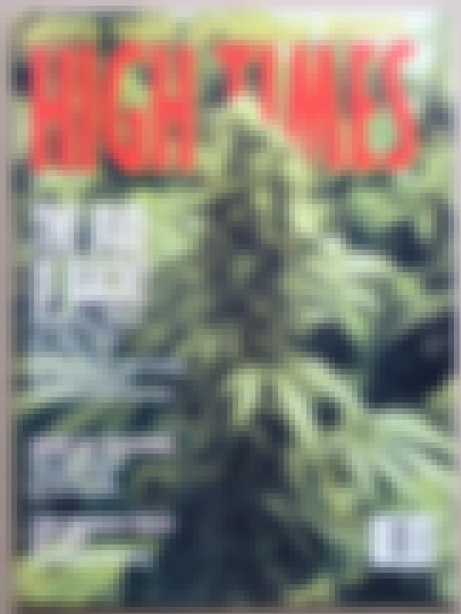 High Times - January 1992 is listed (or ranked) 3 on the list The Best High Times Covers