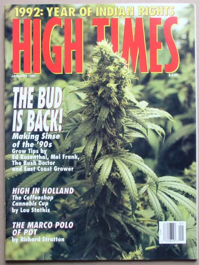 High Times - January 199... is listed (or ranked) 2 on the list The Best High Times Covers