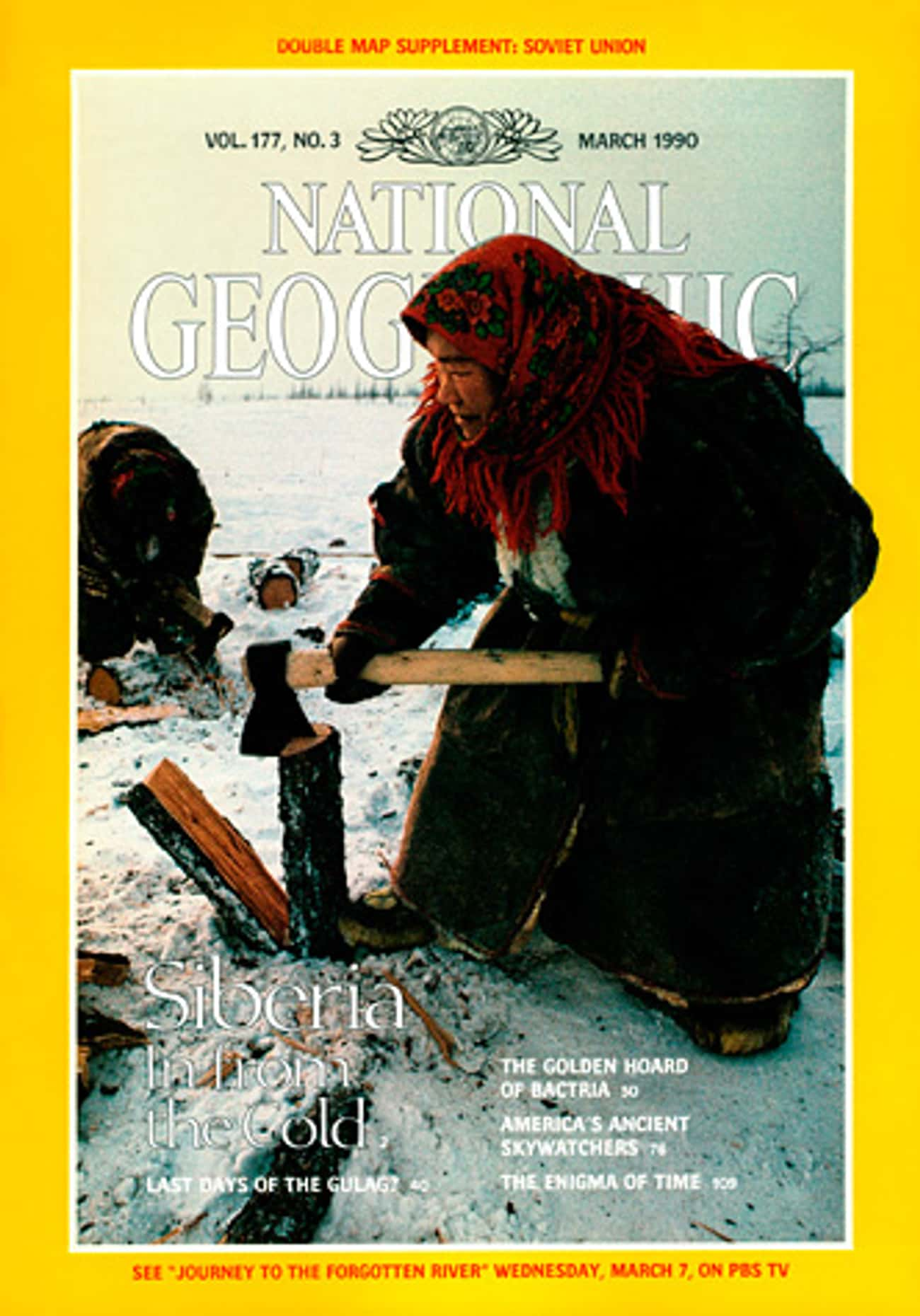 National Geographic - March 1990