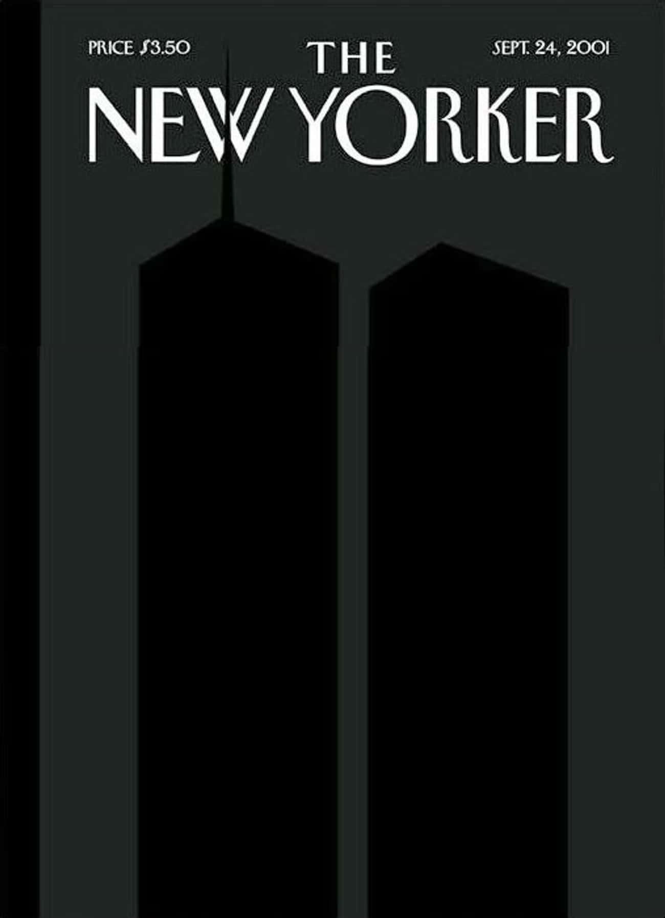 The New Yorker - September 24, is listed (or ranked) 1 on the list The Best New Yorker Covers