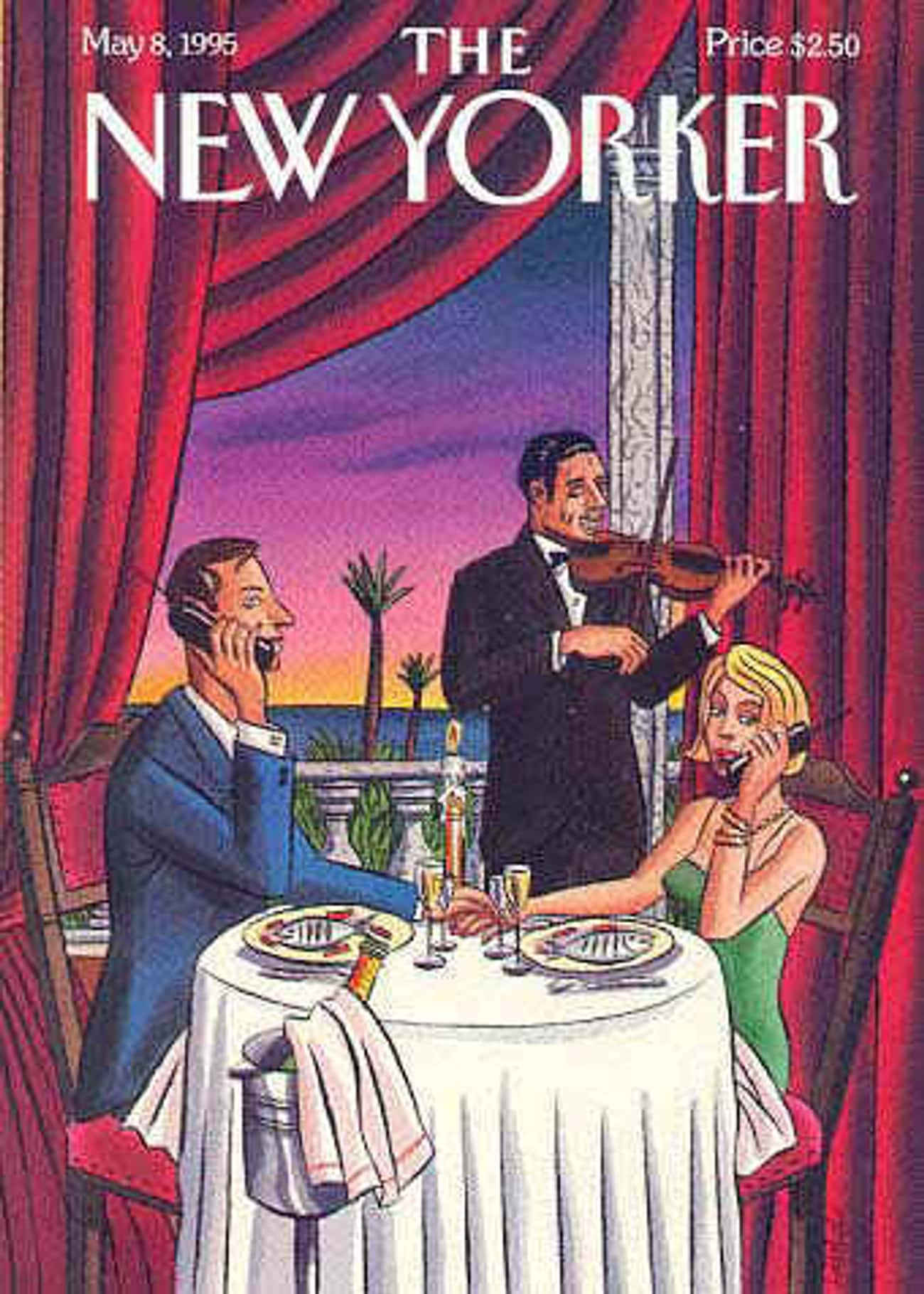 The New Yorker - May 8, 1995 is listed (or ranked) 2 on the list The Best New Yorker Covers