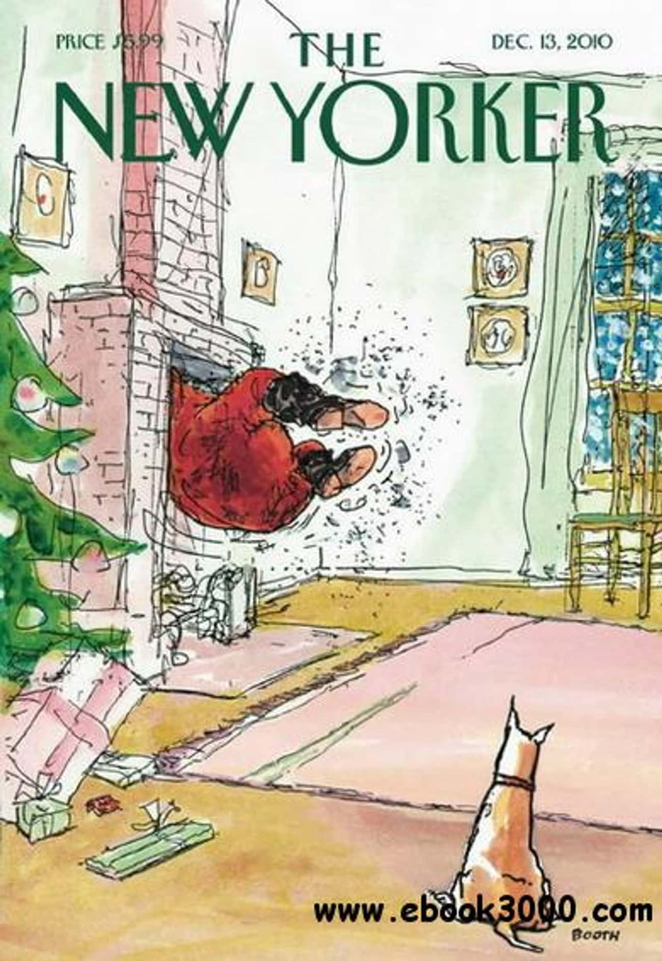 The New Yorker - December 13,  is listed (or ranked) 4 on the list The Best New Yorker Covers
