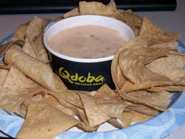 Qdoba Queso Dip is listed (or ranked) 3 on the list Qdoba Recipes