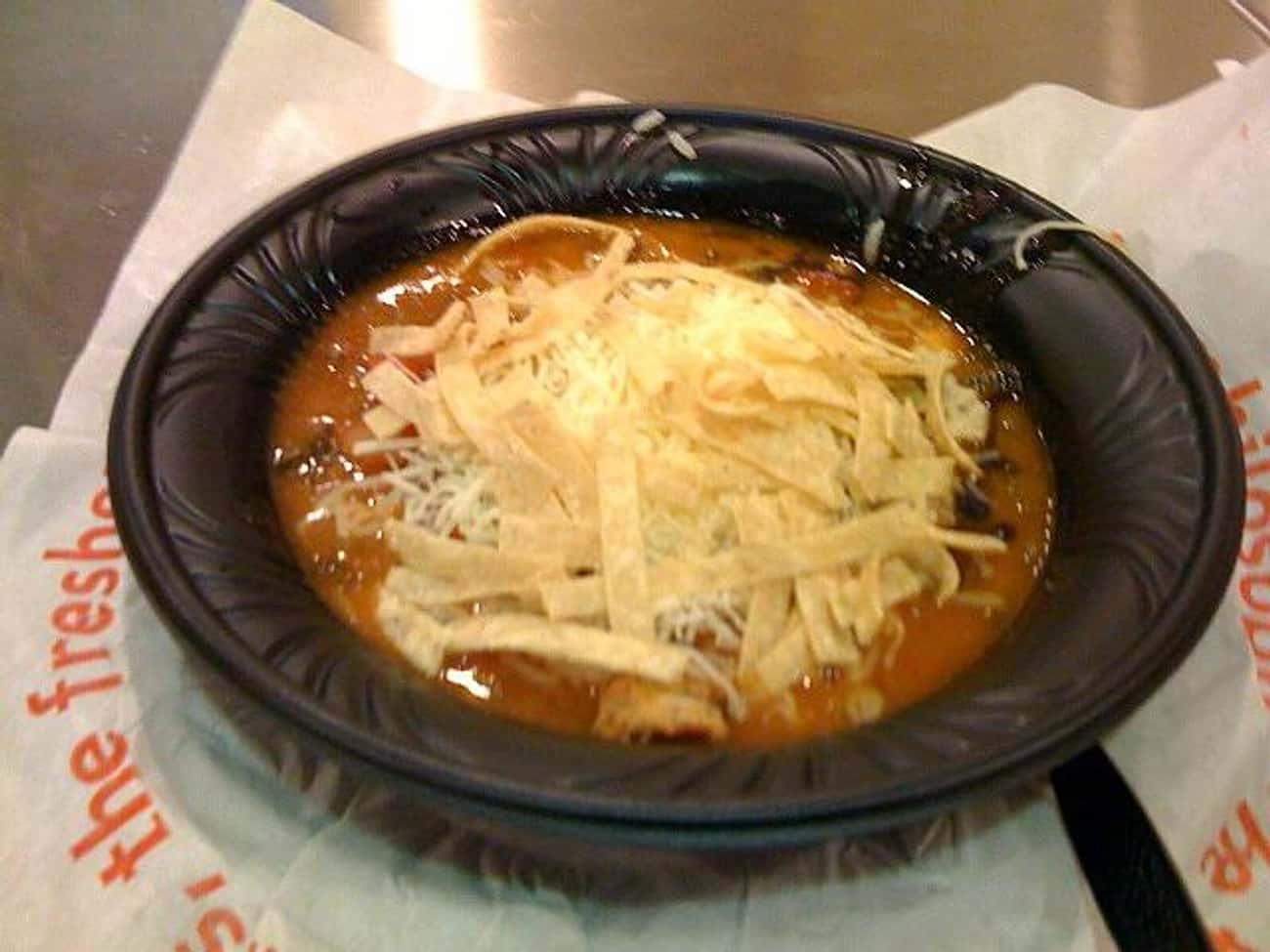 Mexican Gumbo Soup is listed (or ranked) 3 on the list Qdoba Recipes