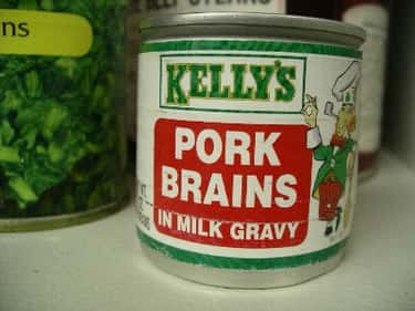 Canned Pork Brains is listed (or ranked) 2 on the list The Most Disgusting Canned Foods