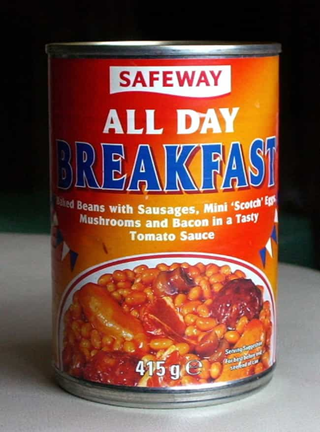 Canned All Day Breakfast