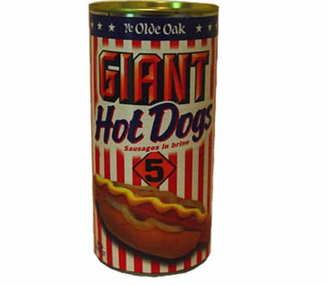 Canned Hot Dogs