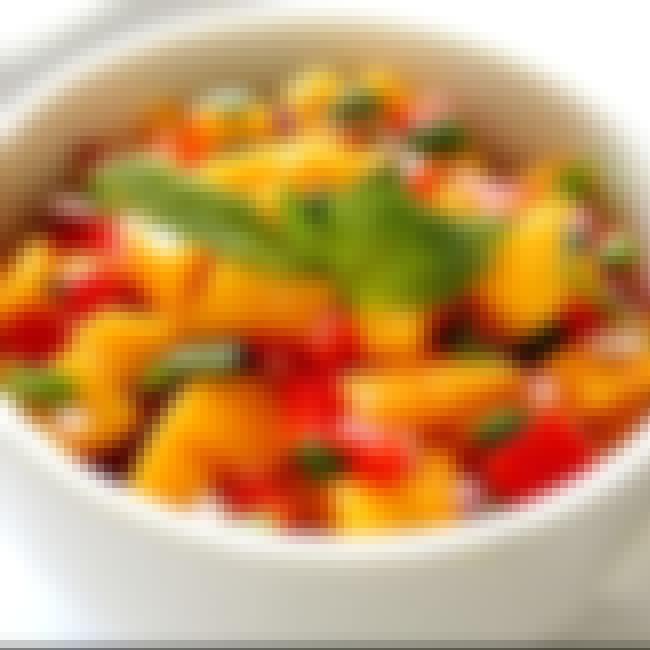 Bahama Breeze Mango Salsa is listed (or ranked) 4 on the list Bahama Breeze Recipes
