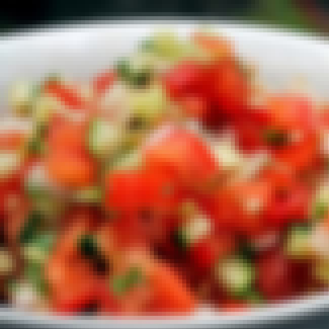 Baja Fresh Pico de Gallo is listed (or ranked) 1 on the list Baja Fresh Recipes