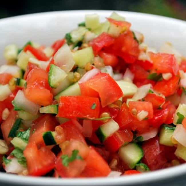 Baja Fresh Pico de Gallo... is listed (or ranked) 1 on the list Baja Fresh Recipes