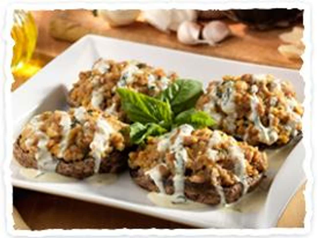 Italian Sausage Stuffed Portob is listed (or ranked) 3 on the list Olive Garden Recipes