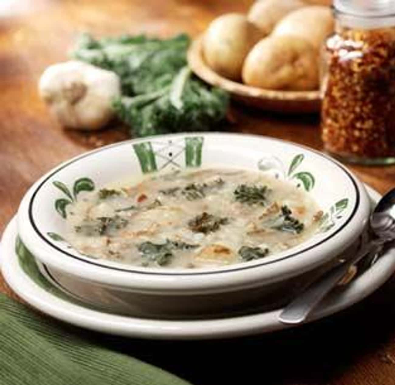 Zuppa Toscana is listed (or ranked) 2 on the list Olive Garden Recipes