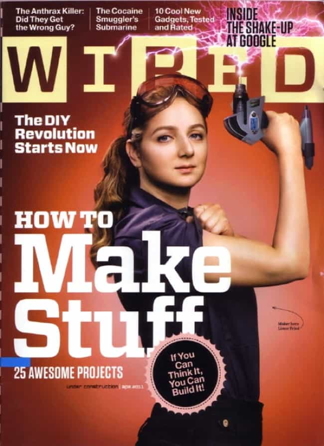 Wired - January 2011 is listed (or ranked) 2 on the list The Best Wired Covers