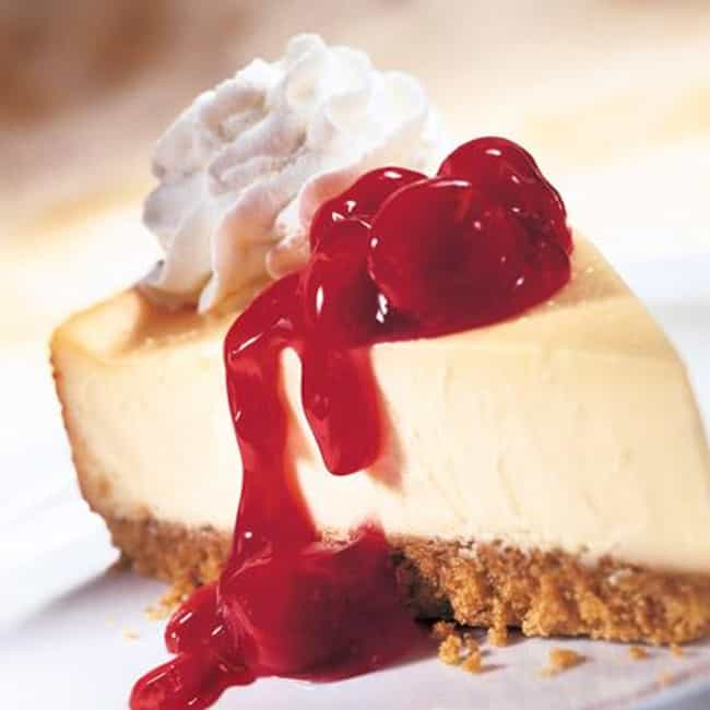 New York Style Cheesecake is listed (or ranked) 1 on the list Denny's Recipes