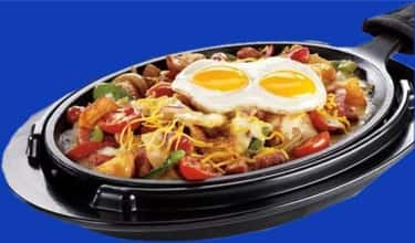 Chicken Fajita Breakfast Skill is listed (or ranked) 1 on the list Denny's Recipes
