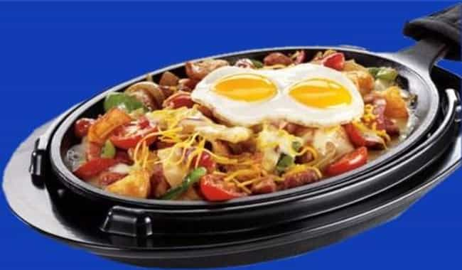 Chicken Fajita Breakfast Skill... is listed (or ranked) 2 on the list Denny's Recipes