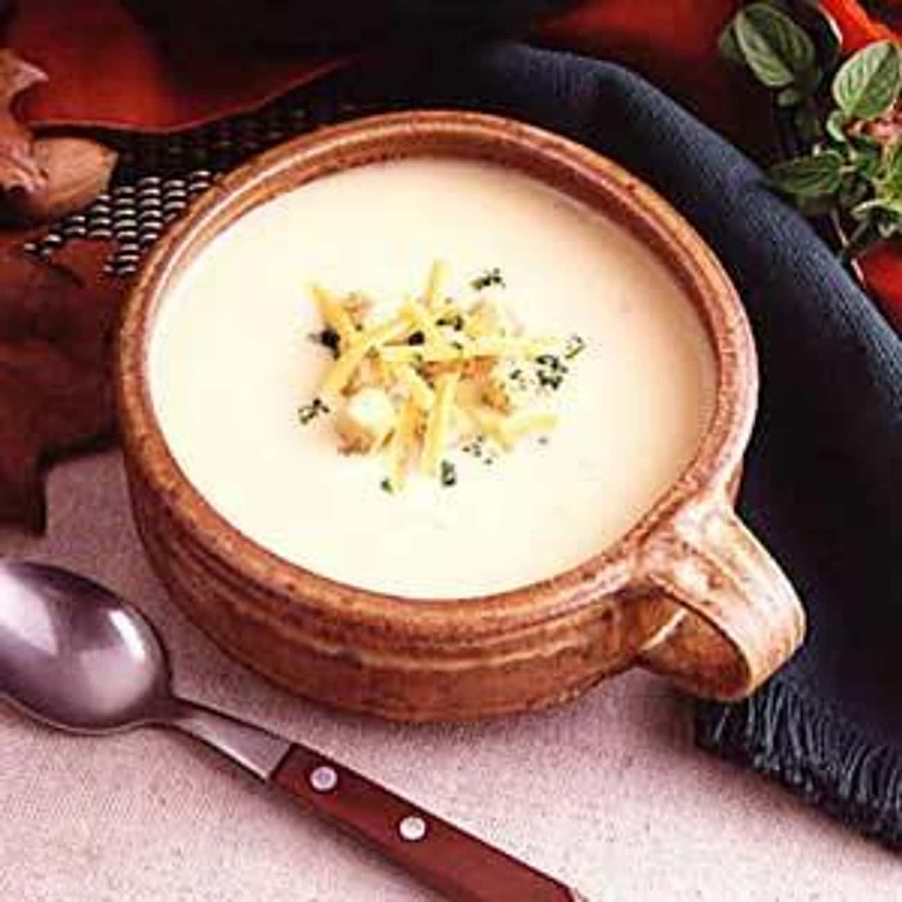 Potato Cheese Soup is listed (or ranked) 3 on the list Marie Callender's Recipes
