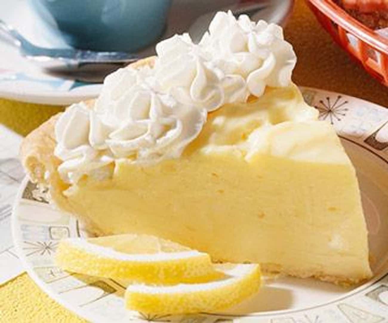 Lemon Cream Cheese Pie is listed (or ranked) 1 on the list Marie Callender's Recipes