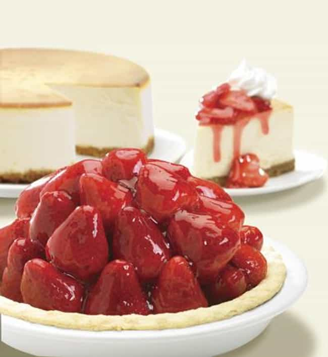 Strawberry Glazed Pie is listed (or ranked) 3 on the list Marie Callender's Recipes