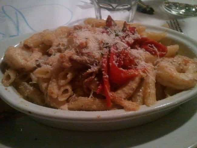 Penne Rustica is listed (or ranked) 2 on the list Romano's Macaroni Grill Recipes