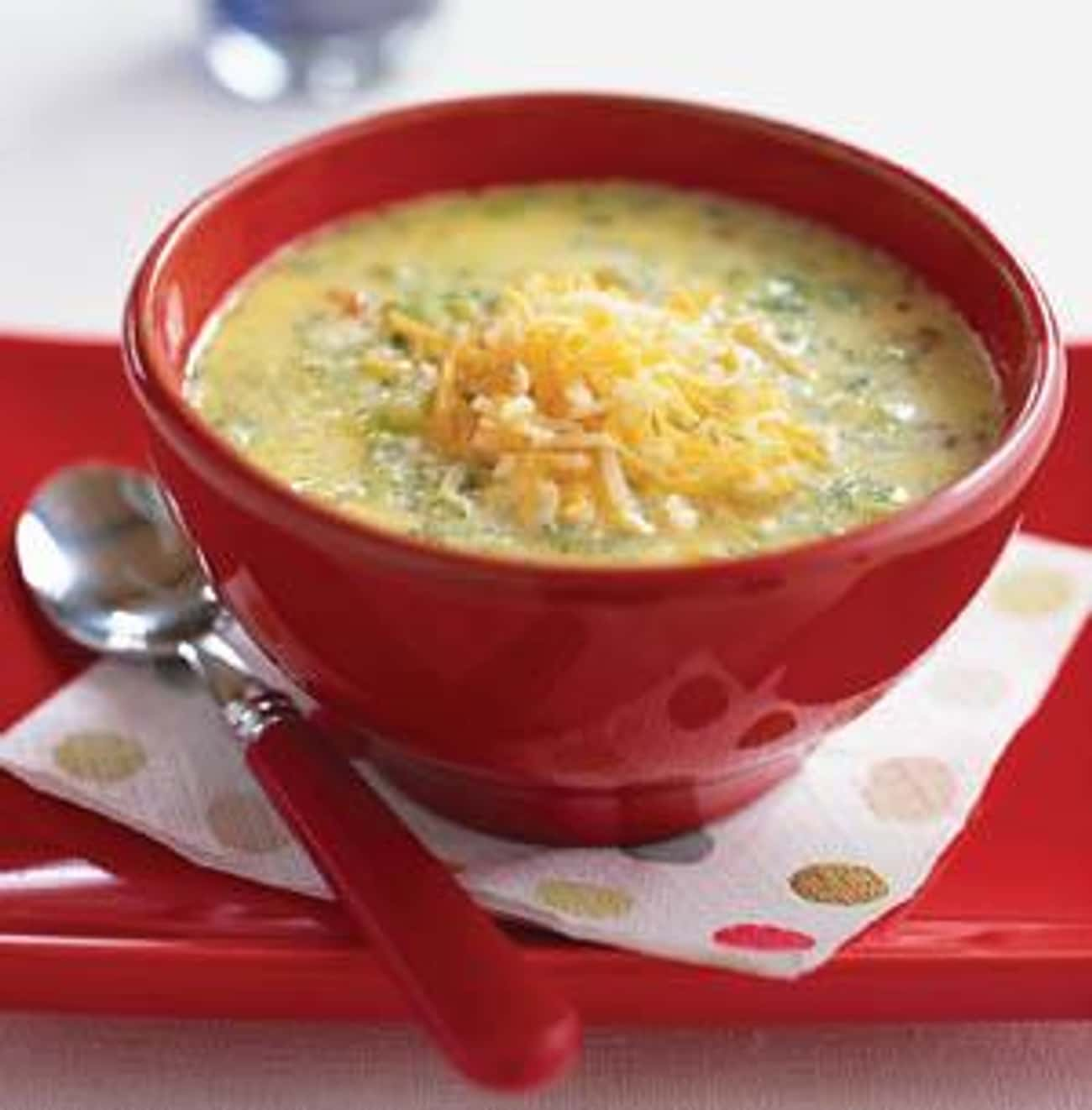 Ruby Tuesday's Broccoli-Cheese is listed (or ranked) 3 on the list Ruby Tuesday Recipes