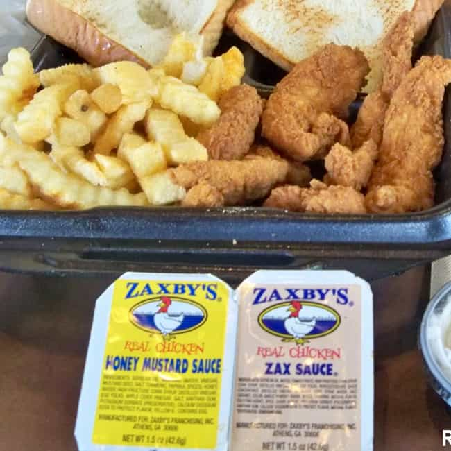 Zaxby's Chicken Fingers ... is listed (or ranked) 3 on the list Zaxby's Recipes