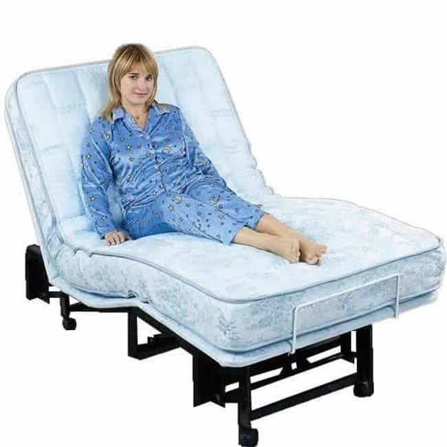 Adjustable Bed is listed (or ranked) 1 on the list Types of Beds