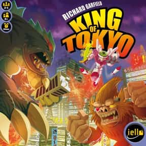 King of Tokyo is listed (or ranked) 12 on the list The Best Board Games of All Time