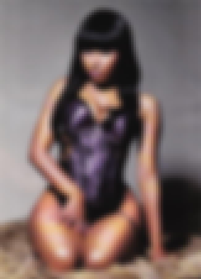 Nicki Minaj in velvet padded l... is listed (or ranked) 1 on the list Nicki Minaj Bikini Pictures