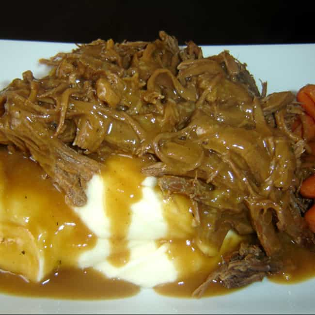 Shoney's Pot Roast is listed (or ranked) 4 on the list Shoney's Recipes