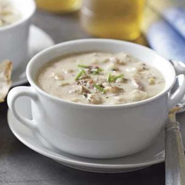 Clam Chowder is listed (or ranked) 1 on the list Sizzler Recipes