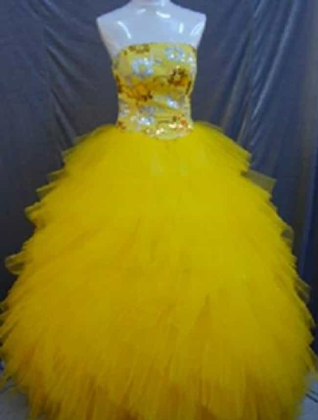 The Ugliest Prom Dresses Of All Time Viraluck